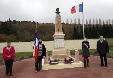 commémoration du 102ème anniversaire de la victoire de 1918